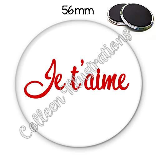 Décoration Dintérieur Produits Handmade Magnet 56mm Je