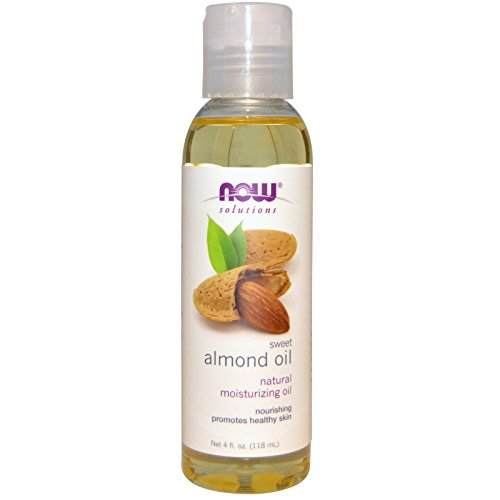 by Now Foods Now Foods, Solutions, Sweet Almond Oil, 100% Pure Moisturizing Oil 4 fl oz (118 ml) (Now Foods Sweet Almond Oil)