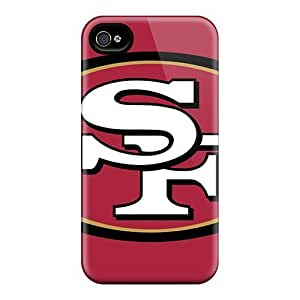 Hot CfU402YWTO Cases Covers Protector For Iphone 4/4s- San Francisco 49ers by mcsharks