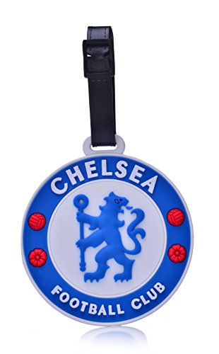 REINDEAR Soccer Team Football Club Logo Heavy Duty Baggage Travel Luggage ID Tag US Seller (Chelsea F.C.)