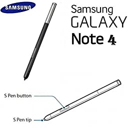 Original Samsung Galaxy Note 4 black Touch Stylus S Pen Replacement new ~ USA
