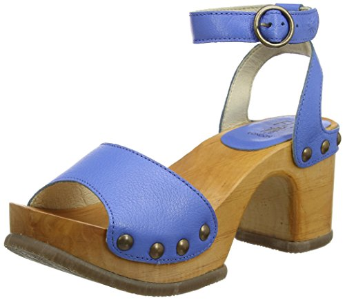 002 Damen FLY Smurf Blau Sandalen Blue London Romy996fly 0TFqOx8w