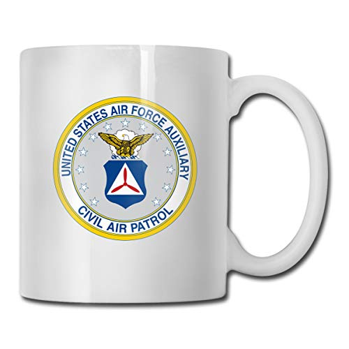 United State Air Force Auxiliary Civil Air Patrol Seal Portable Classic Ceramic Mug Coffee Cup Travel Mug 11 Ounce