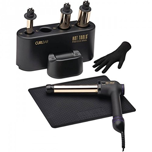 Hot Tools 24K CURL BAR SET - FOUR INTERCHANGEABLE BARRELS:3/4'', 1'', 11/4'', 11/2''