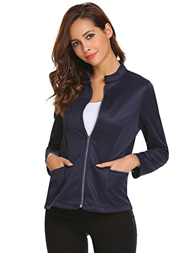 Women's Slim Business Blazer Blue - 8