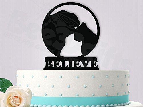 Simba and Nala Wedding Cake Topper
