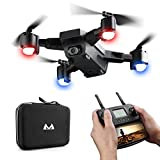 Hot  SMRC S20 RC Quadcopter 2.4GHz 1080P 120°Wide-Angle HD Camera 6-axis Helicopter Foldable Selfie Drone - Headless Mode,One Auto Return Key, Flying Around
