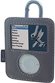 Macally Leather Case for iPod nano 3G
