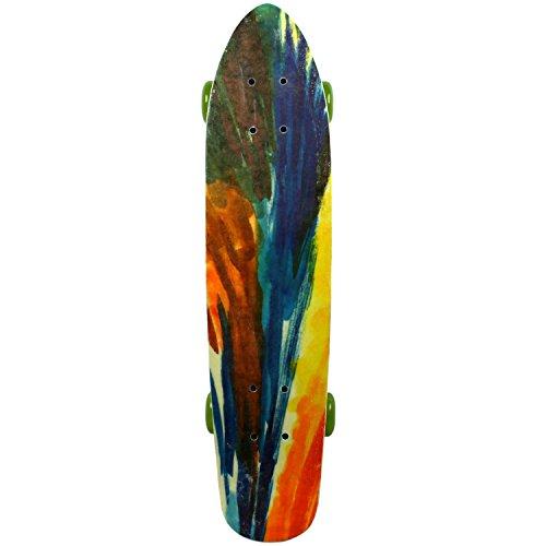 MPI NOS Complete Fiberglass Tie Dye Skateboard, 6.5