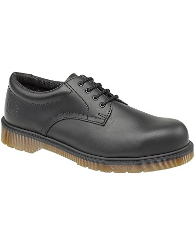Dr. Martens Mens Lace Up Safety Shoes FS57 Black Black
