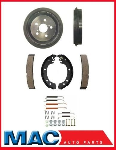 Mac Auto Parts 127387 Toyota Corolla Built In USA & Canada (2) Rear Brake Drums Shoes and Springs