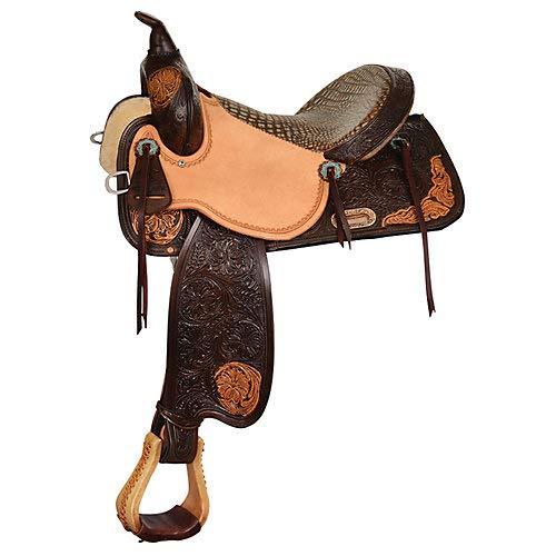 Circle Y High Horse Lariat Reg Vintage Barrel Saddle 15in