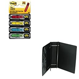 KITLEO61601MMM684SH - Value Kit - Charles Leonard Varicap6 Expandable 1 To 6 Post Binder (LEO61601) and Post-it Arrow Message 1/2amp;quot; Flags (MMM684SH)