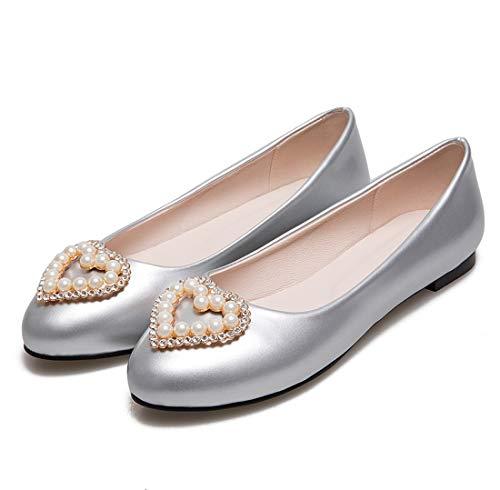 Ballerine Scarpe Silver Donne Dolly 17 Donna Dettaglio 6 Pompe