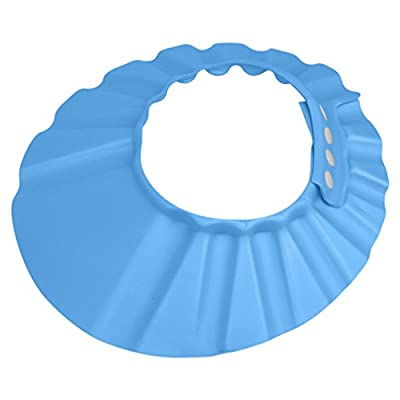 Evelots Soft Shower Bathing Baby Bath Cap Hat For Babies & Childern,Blue Or Pink