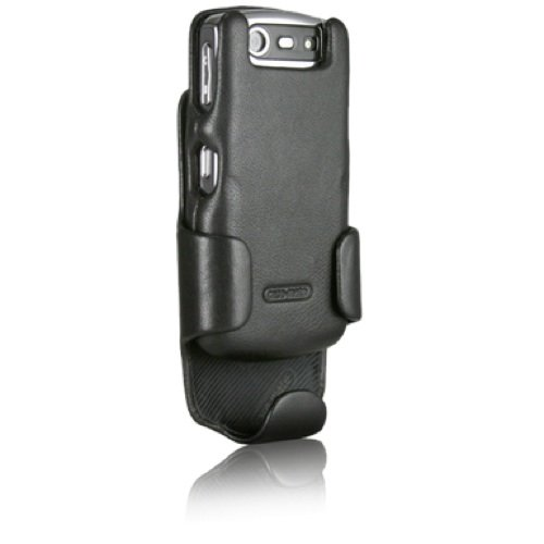 (Case-Mate Signature Case and Holster Combination in Napa Leather for BlackBerry 2 8130 - Black)