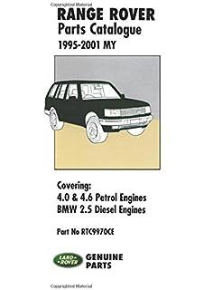 land rover range rover p38 p38a 1995 2002 service manual