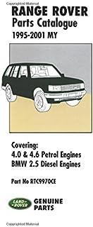 range rover 1995 2001 my workshop manual covering 4 0 4 6 v8 rh amazon co uk Range Rover 3 9 Engine Classic Range Rover Problems