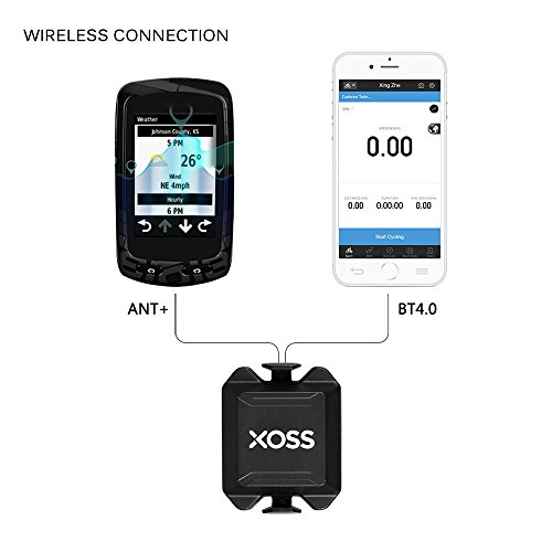 POSMA BCB20 Bike Speed//Cadence Combo Sensor for iPhone Android /& ANT Plus Devices Compatible with Bluetooth 4.0 /& ANT Plus