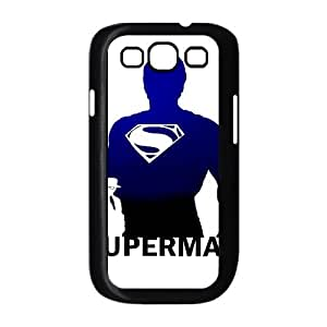 {Superman Series} Samsung Galaxy S3 Case Hope Superman, Case Bloomingbluerose - Black