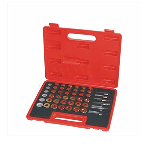 HITSAN 114Pcs Car Oil Pan Thread Repair Kit Including Thread Tapping Oil Shell Screws Seal Ring One Piece by HITSAN (Image #1)