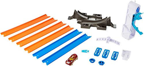 Hot Wheels Track Builder Loop Launcher Playset (Hot Wheels World Race Cars For Sale)