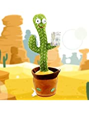 Dancing Cactus Toy, Shaking, Records, Sings & Talks to kids!, Best Selling Toy For Kids 2021