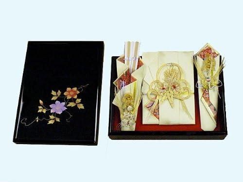 結納BOXセット鉄仙(木製・指輪飾りなし)
