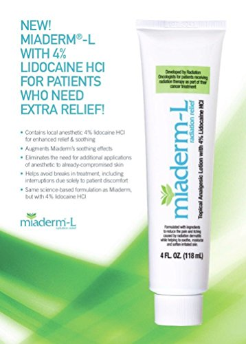 Miaderm L Radiation Relief Lotion Lidocaine product image