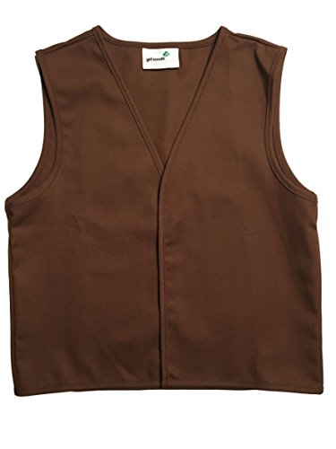 Scout Brownie - Girl Scouts Brownie Vest (Medium 10-12)