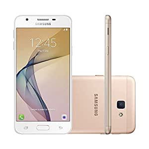"Smartphone Samsung Galaxy J5 Prime, 5"", 32GB, 4G, Android 6, Dual Chip, Câmera 13MP, Quad Core, Dourado"