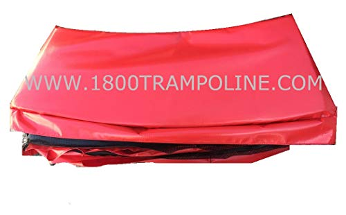 Family Store Network Red Made in USA 12' Trampoline Frame Pad 12'' Wide by Family Store Network (Image #1)