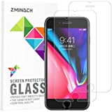 iPhone 8 Plus / 7 Plus Screen Protector Glass,[5.5inch] by ZMINDCH, 9H Tempered Glass Screen Protector Compatible with Apple iPhone 8 Plus and iPhone 7 Plus,[3-Pack]