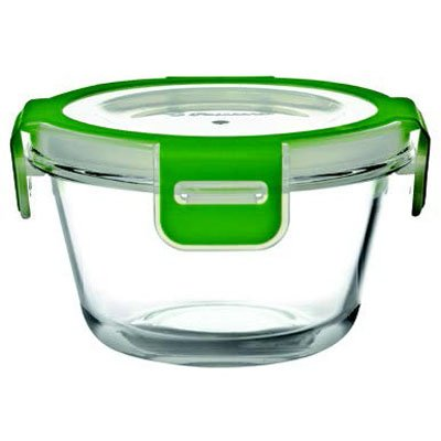 Pasabahce Storemax Glass Food Container, 340ml, Clear