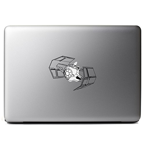Darth Vader Tie Fighter Star Wars Inspired Vinyl Sticker Laptop iPhone Cell Decal