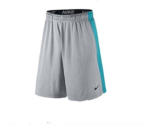 Nike Men's 9'' Fly Dri-FIT Training Shorts Wolf Grey, Size XL - Dri Fit 9' Sport Short