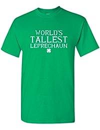 World's Tallest Leprechaun Funny Irish ST Patricks Day T-Shirt