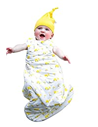 Kyte BABY Sleeping Bag for Toddlers 18-36 Months - Made of Soft Bamboo Material - 1.0 Tog - Safari