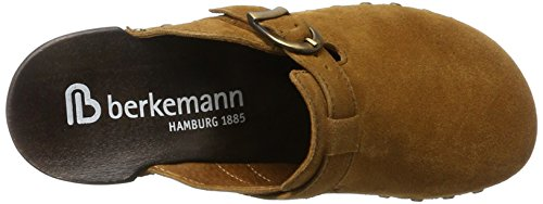 Berkemann Edda, Zuecos para Mujer marrón (Cognac)