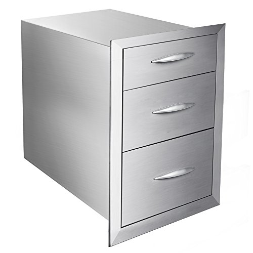 Stainless Steel Bbq Drawers (Mophorn Outdoor kitchen drawer 18