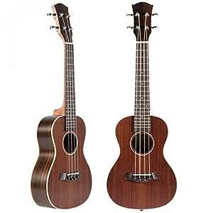 NING-MENG 23 4 Ukulele Ukelele Guitarra Eléctrica Guitarra Para ...