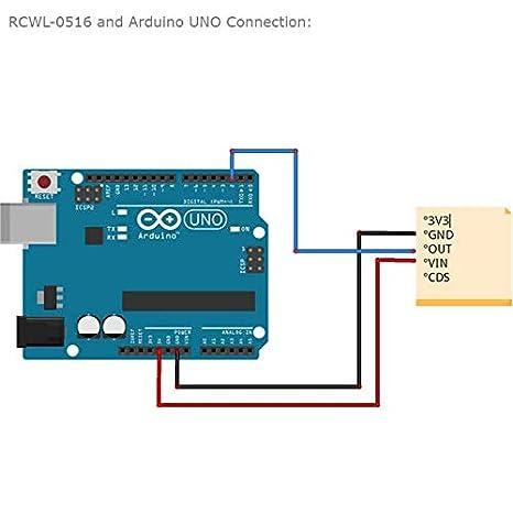 for Arduino ESP8266 Nodemcu Wemos for Human Rat Cat Detector 5PCS RCWL-0516 Motion Detection Sensor Better than HC-SR501 Switch Module Detection Distance 5-7m Microwave Radar Sensor