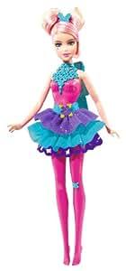 Barbie Sparkle Light Up Pink Fairy Doll