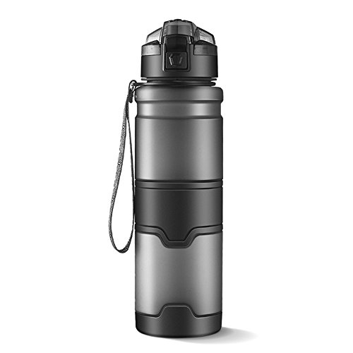 aoliaoyudongyongpin Water Bottle BPA Free Leakproof Drinking Bottle For Water With Rope Portable Tumble