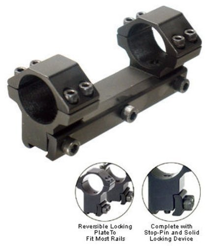 Leapers Accushot 1-Pc Mount, Dovetail, for 1' Rings