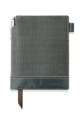 Cross Textured Journal, Grey, Small (AC249-2S) (Cross Journal)