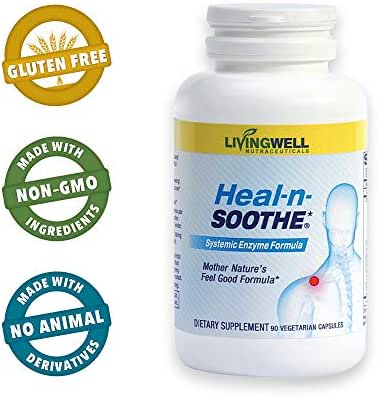 Heal-n-Soothe - 90 Count - Pain Relief Anti Inflammatory Supplement