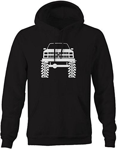 - 1980's 90's Chevy K5 Blazer Lifted Mud Tires Truck Sweatshirt -Medium