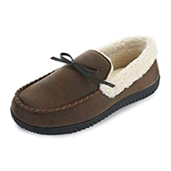 RockDove Men's Two-Tone Moccasin with Me...