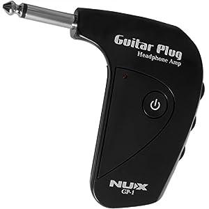 nux gp 1 electric guitar headphone amp musical instruments. Black Bedroom Furniture Sets. Home Design Ideas